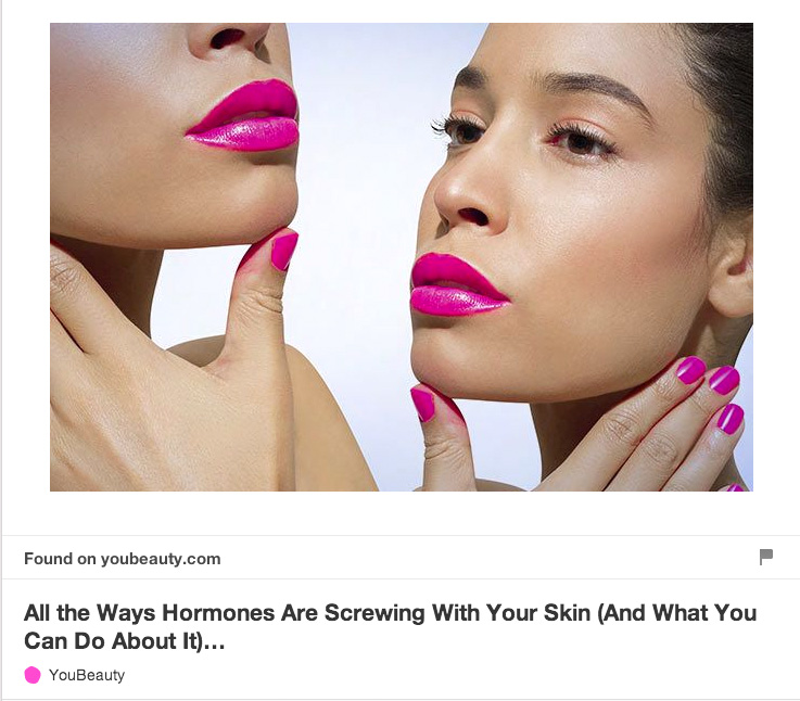 7. Need to know: Hormones and skin care