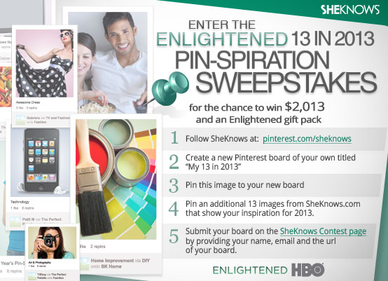 HBO Pinterest contest feature image