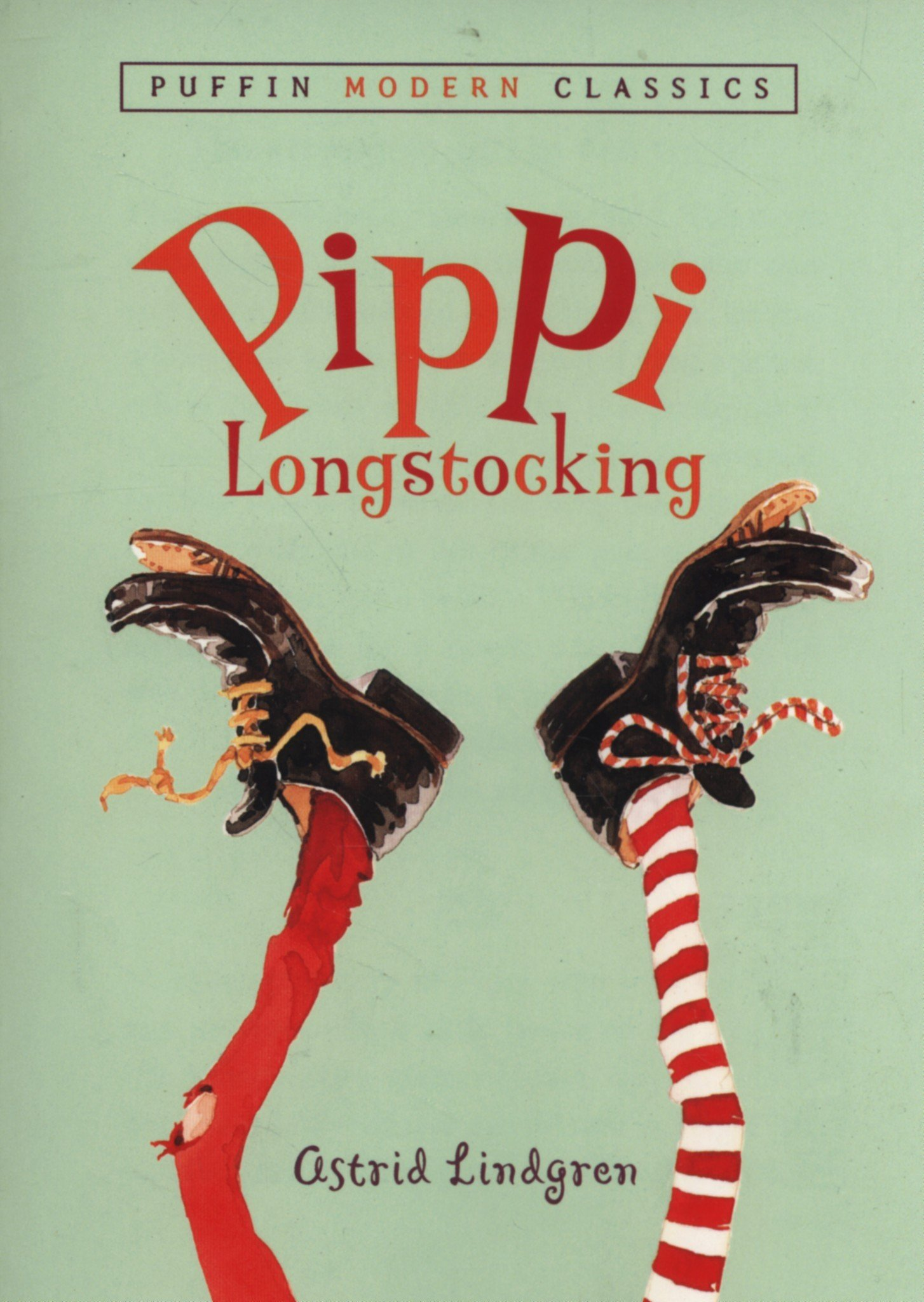 Pippi Longstocking by Astrid Lindgren. ages 7-10