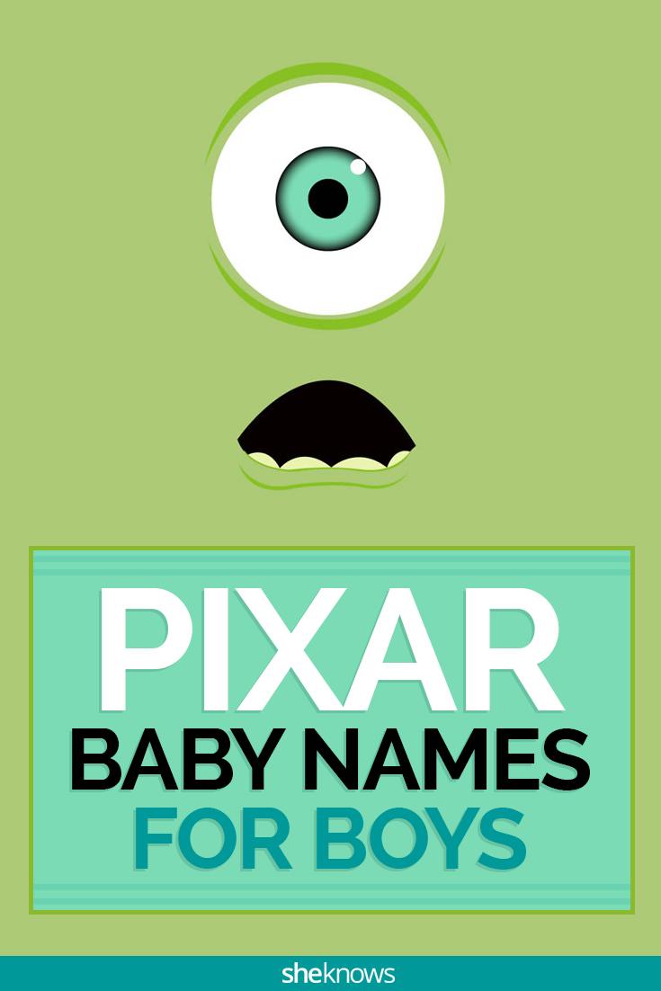 Pixar baby names for boys