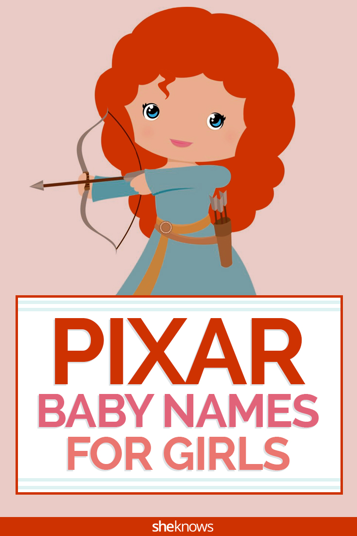 Pixar baby names for girls