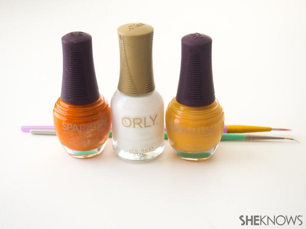 3 Classic plaid nail art designs | Sheknows.com -- supplies