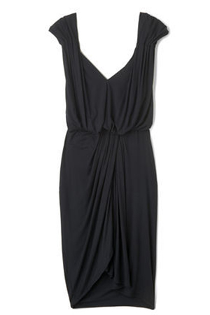 Queen Latifah Queen Collection Pleated and Draped Dress