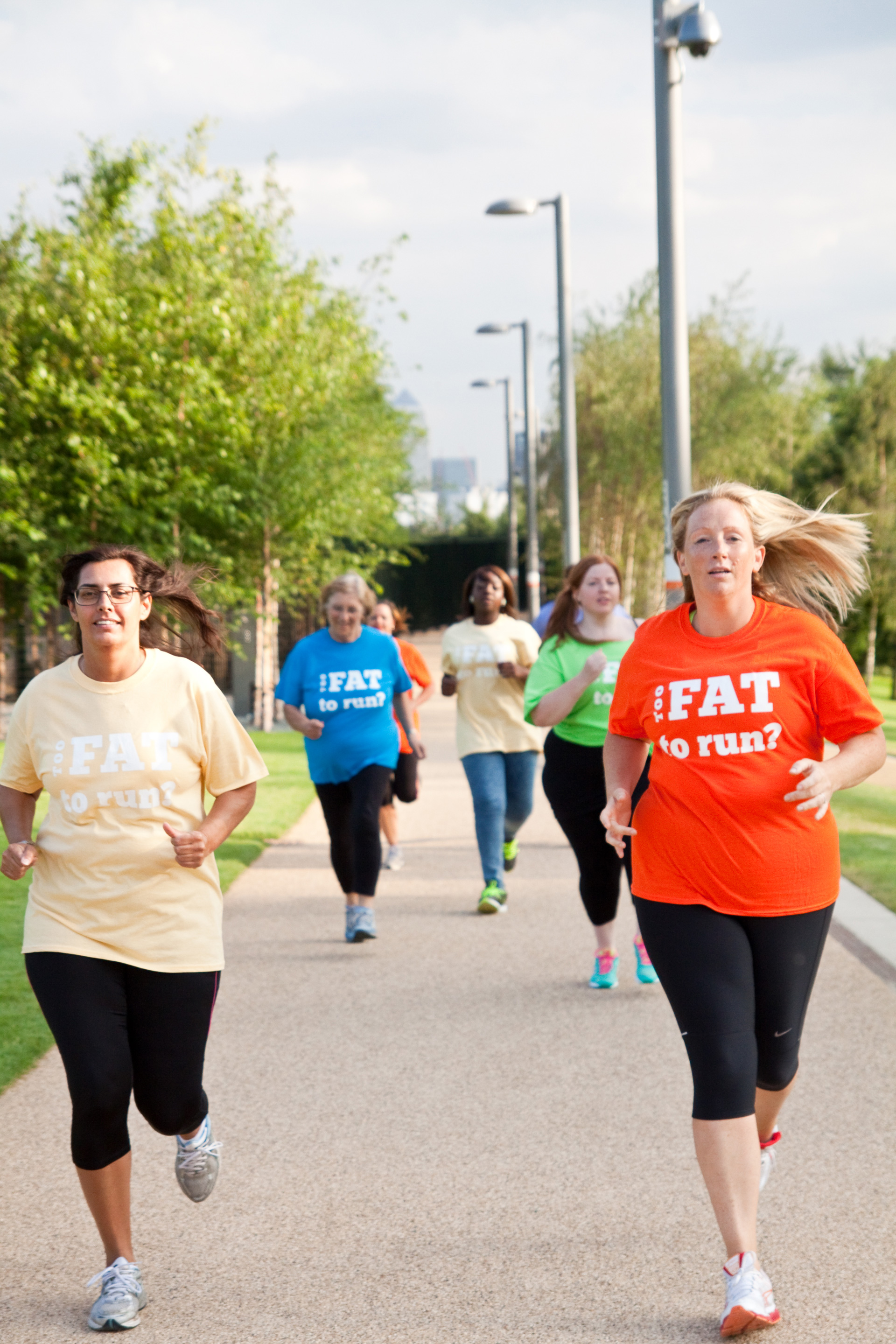 "Woman defies the ""too fat to run"" trope in the best way ever."