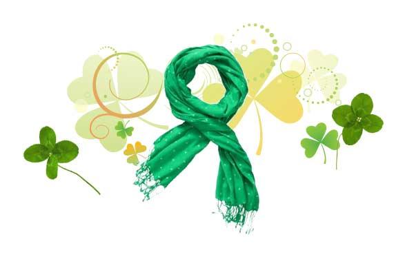 green polka dot scarf old navy