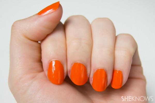 Prada Inspired tortoise shell print nails