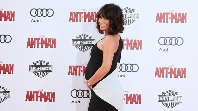 Surprise! Evangeline Lilly is 7 months