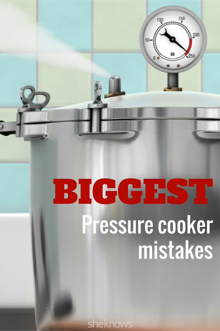 pressure cooker mistakes