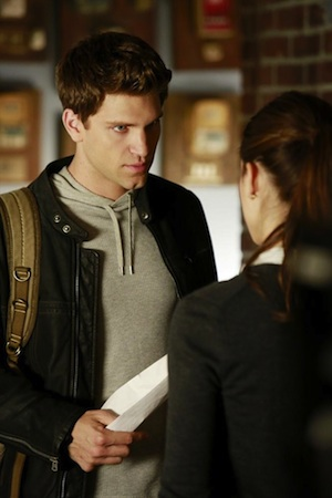 Toby and Spencer in Pretty Little Liars