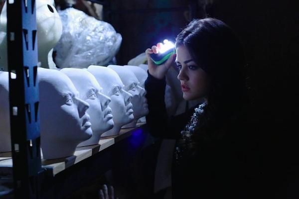 Aria in Pretty Little Liars