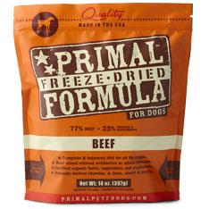 Primal freeze dreid food