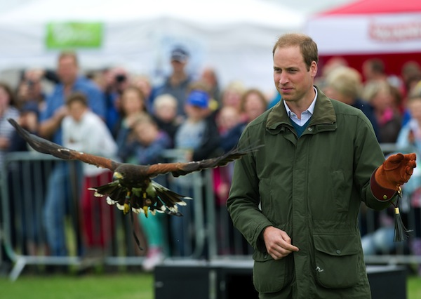 Prince William farewells Anglesey