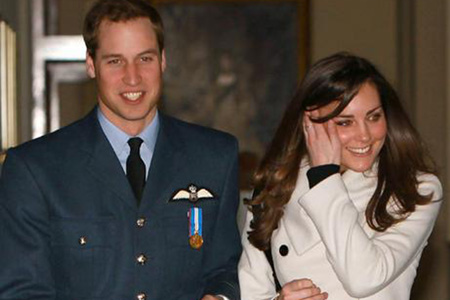 Prince William and Kate Middleton taking some time off
