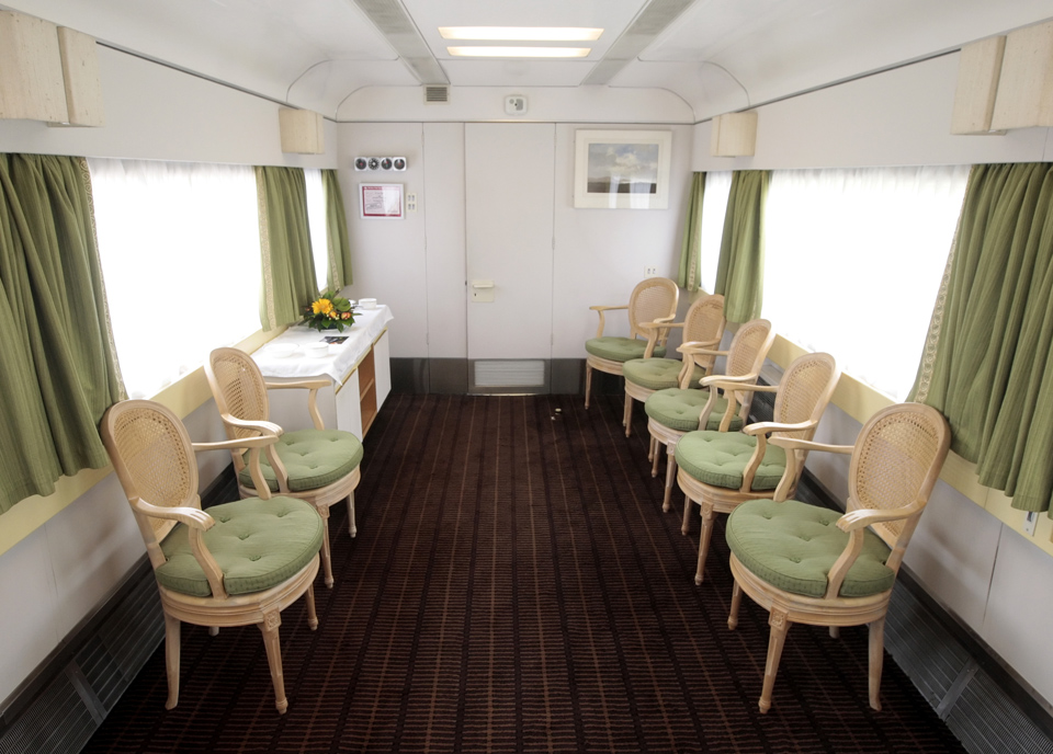 Prince Philip saloon on the royal train