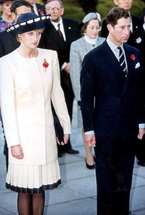 Princess Di and Prince Charles