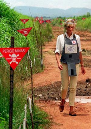 Princess Diana - Landmines