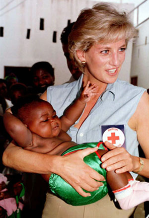 Lady Diana - Humanitarian Efforts
