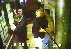 Lady Diana and Dodi Al Fayed