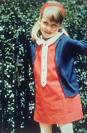 Princess Diana - Youth