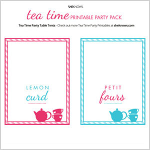 Food label tent cards 2