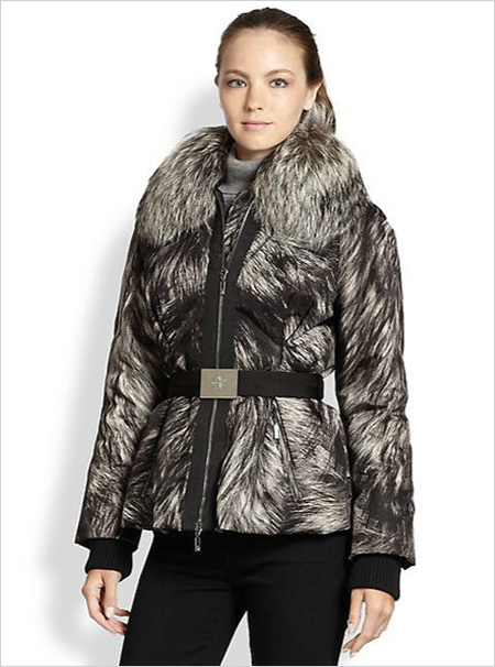Moncler Printed Canet Puffer Jacket