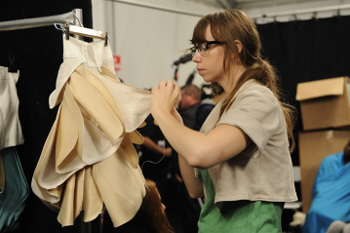 It's down to the last stitch on Project Runway