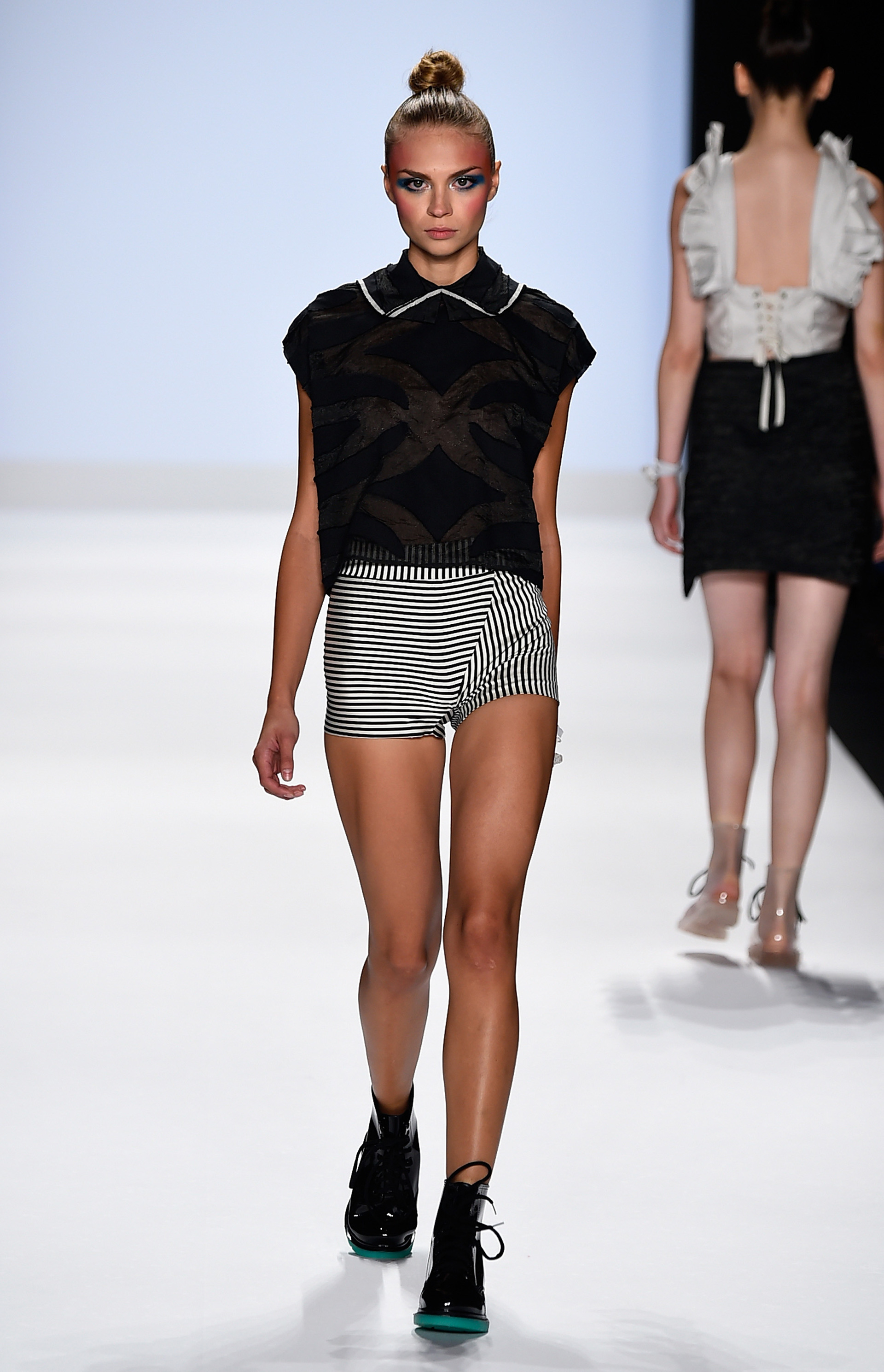 Project Runway's Fashion Week show 1