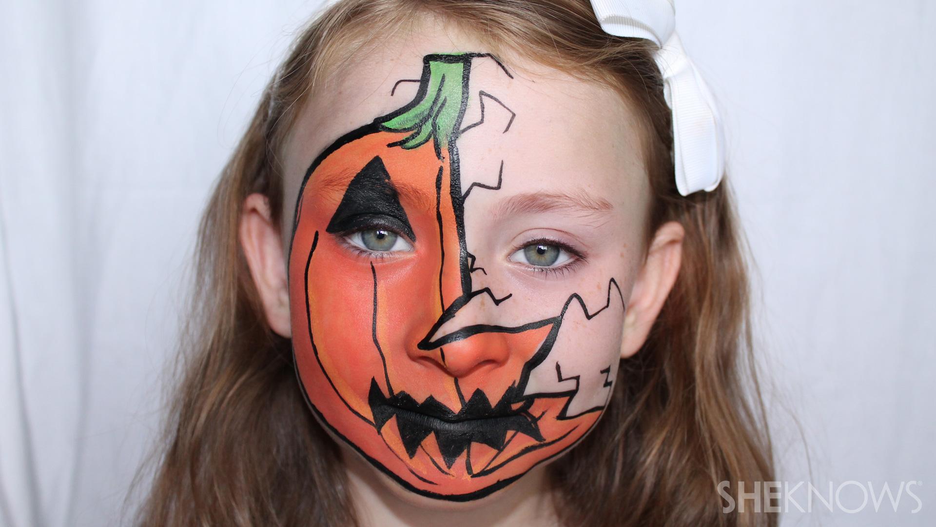 Cracked pumpkin