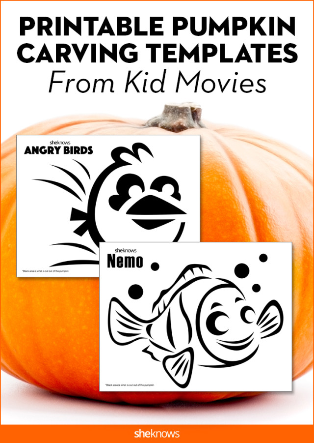 image relating to Angry Birds Pumpkin Carving Patterns Printable titled This sort of Cinematic Pumpkin-Carving Templates Will Be a Large Strike