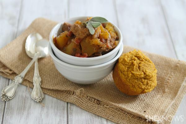 Pork & pumpkin stew