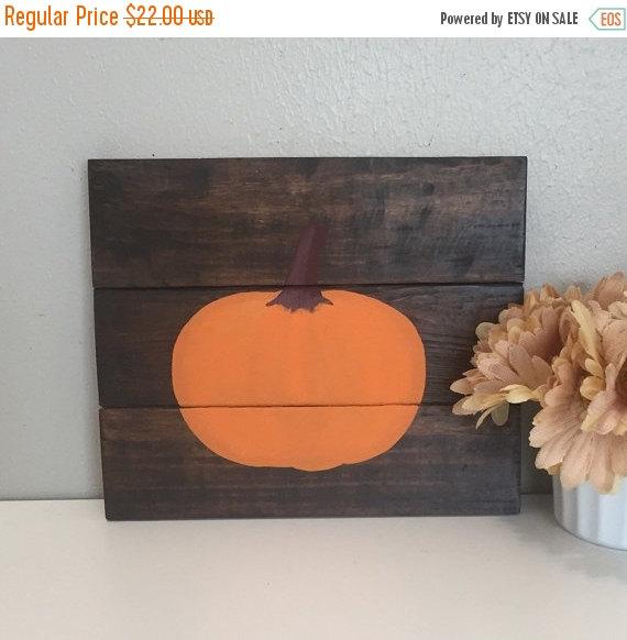 Pumpkin on a Pallet