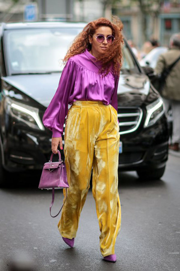 Complementary Colors: Purple and Yellow
