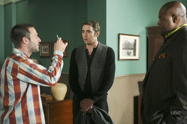 David Arquette visits Pushing Daisies on ABC