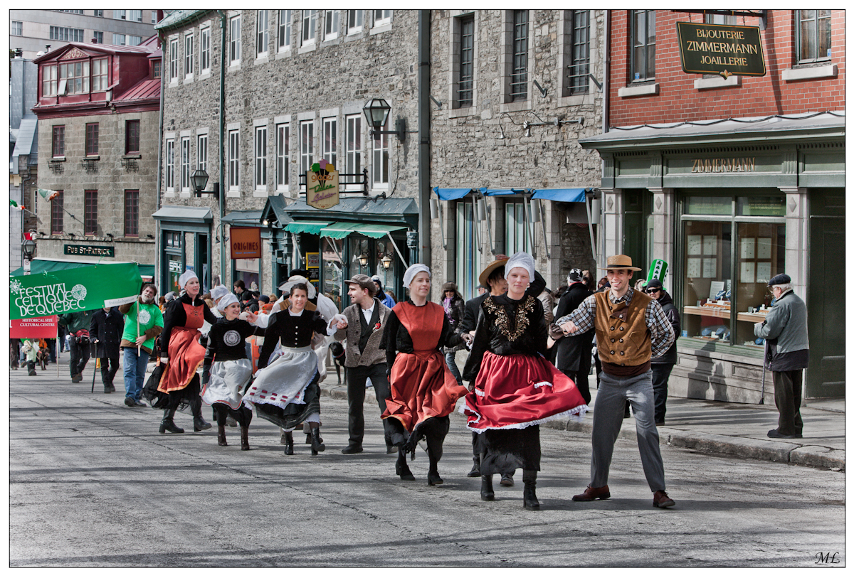 St. Patrick's Day Parade in Quebec City