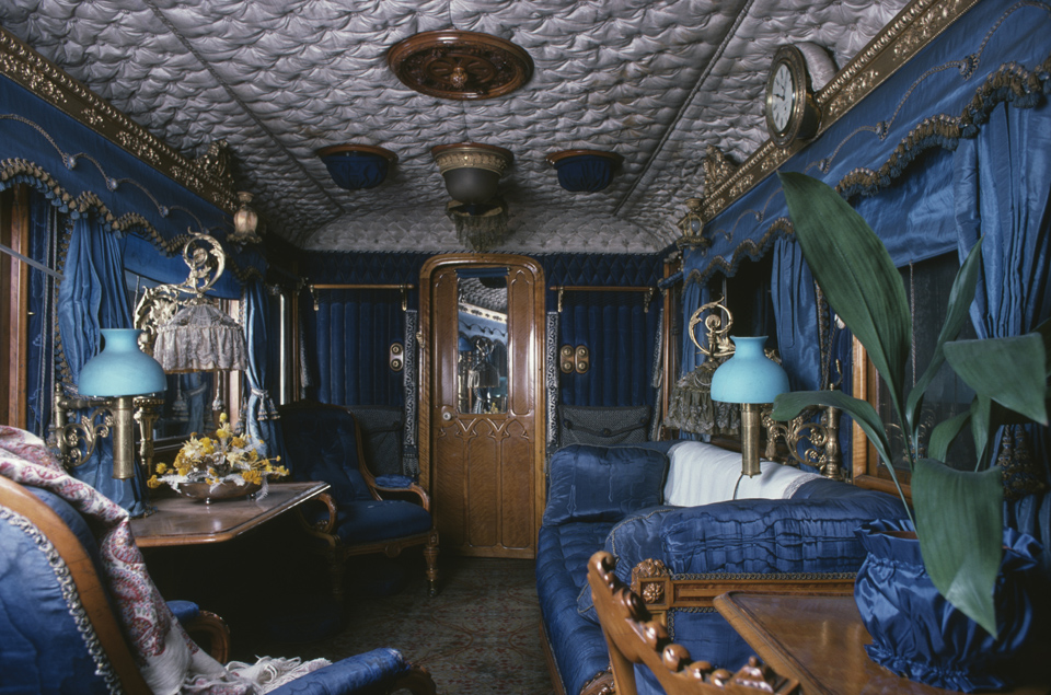 Queen Victoria's Saloon on the Royal Train