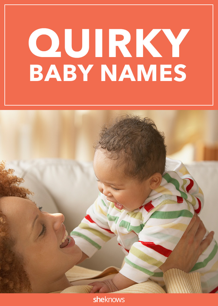 quirky baby names