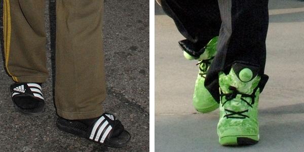 Robert Downey Jr. birthday shoes