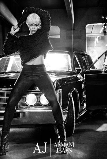 Rihanna for Armani jeans