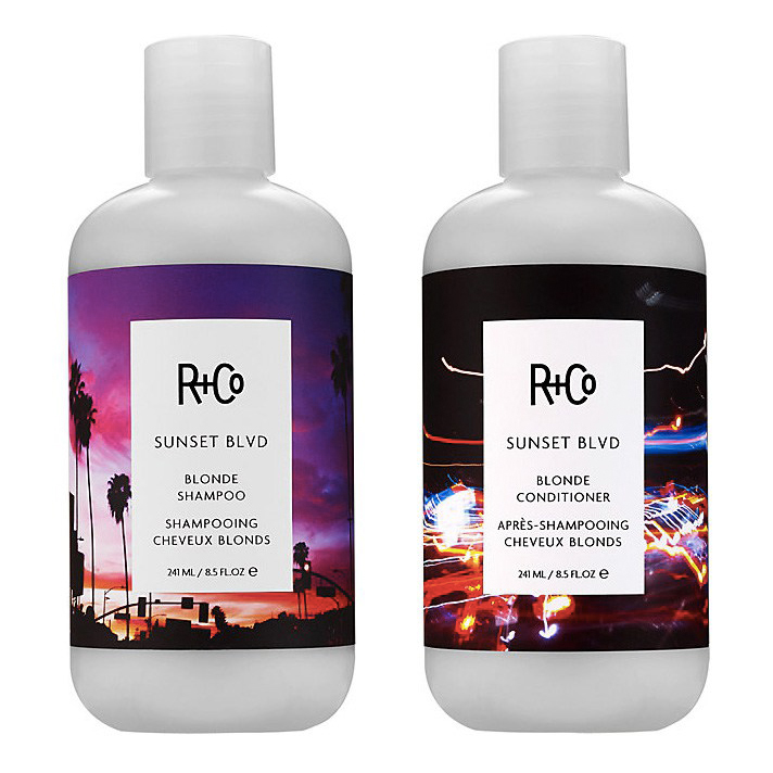 R+CO Sunset Boulevard Blonde Shampoo & Conditioner