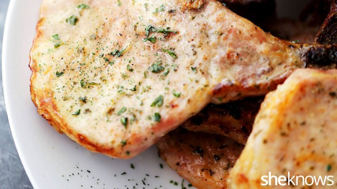 Get flavorful pork chops with this