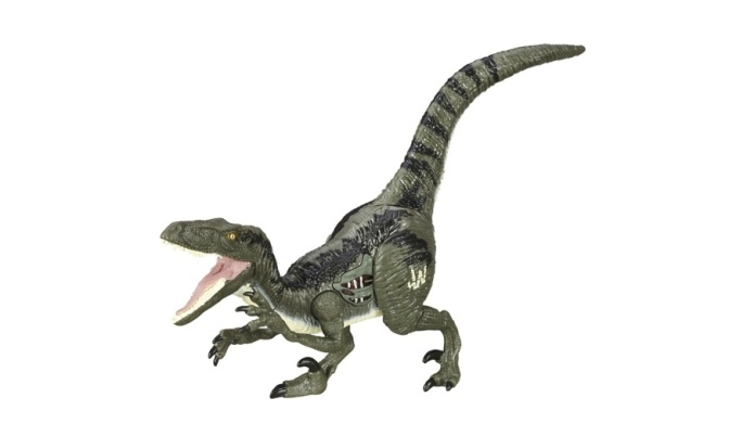 Jurassic World toys describe Blue the