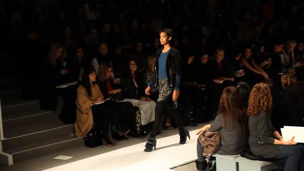 Rebecca Taylor fashion show at Fashion Week 2012