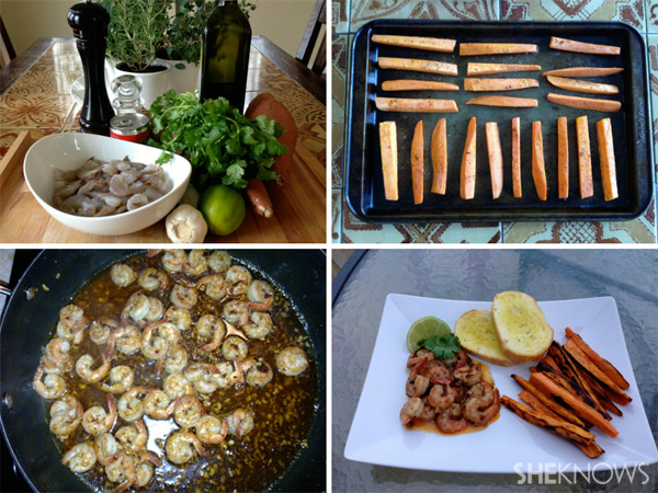 Recipe revamp; Fish and chips