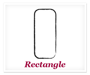 Athletic or rectangle body shape
