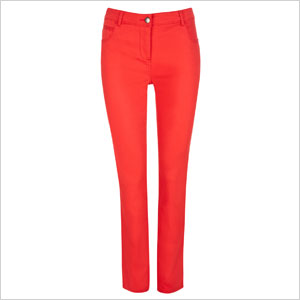 Walis Red Slim Leg Jeans