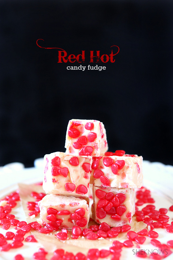 red hot candy fudge