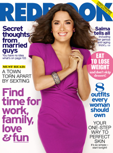 Salma Hayek on Redbook