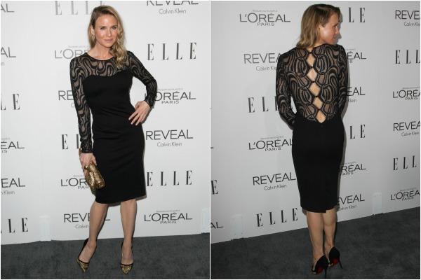Renee Zellweger's little black dress