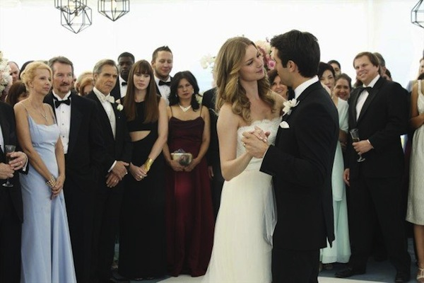 Emily and Daniel tie the knot in Revenge Season 3