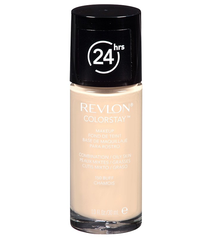 Best Foundations for Oily, Shiny Skin: Revlon Colorstay Makeup For Combination/Oily Skin | Summer skincare 2007